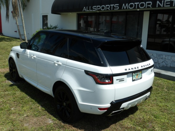 Used 2018 Land Rover Range Rover Sport V8 Supercharged Dynamic | Miami, FL n34