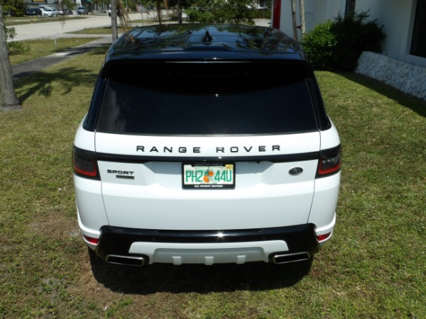Used 2018 Land Rover Range Rover Sport V8 Supercharged Dynamic | Miami, FL n37