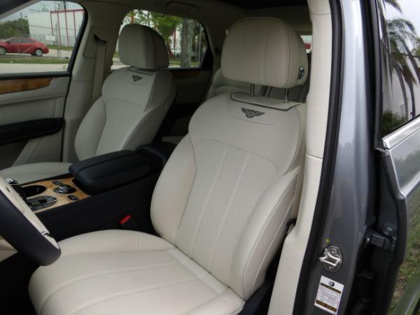 Used 2019 Bentley Bentayga V8 | Miami, FL n40