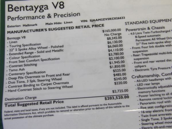 Used 2019 Bentley Bentayga V8 | Miami, FL n71