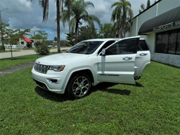 Used 2019 Jeep Grand Cherokee Overland   Miami, FL n2