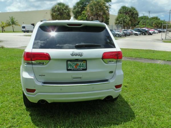 Used 2019 Jeep Grand Cherokee Overland   Miami, FL n7