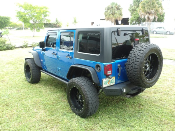 Used 2015 Jeep Wrangler Unlimited Sahara   Miami, FL n12