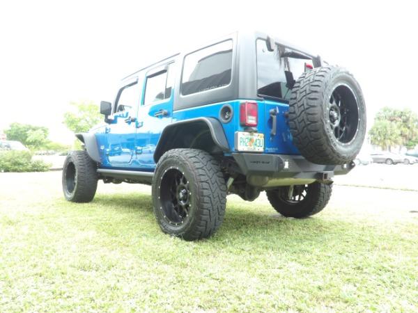 Used 2015 Jeep Wrangler Unlimited Sahara   Miami, FL n14