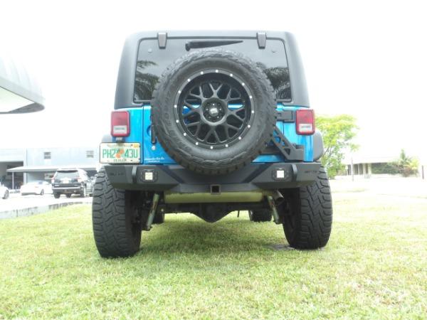Used 2015 Jeep Wrangler Unlimited Sahara   Miami, FL n17