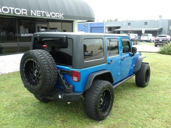 Used 2015 Jeep Wrangler Unlimited Sahara   Miami, FL n18