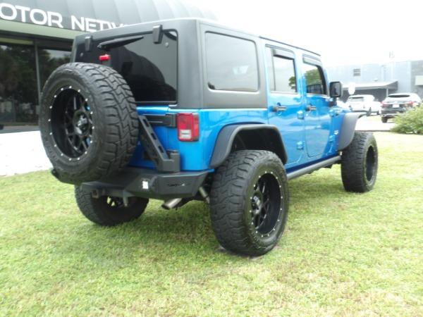 Used 2015 Jeep Wrangler Unlimited Sahara   Miami, FL n19