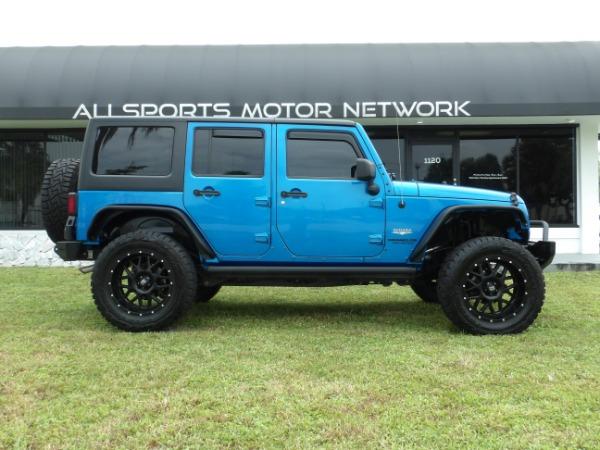 Used 2015 Jeep Wrangler Unlimited Sahara   Miami, FL n2