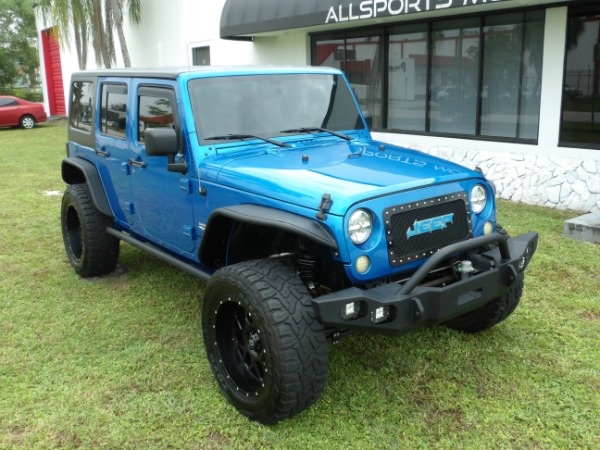 Used 2015 Jeep Wrangler Unlimited Sahara   Miami, FL n3