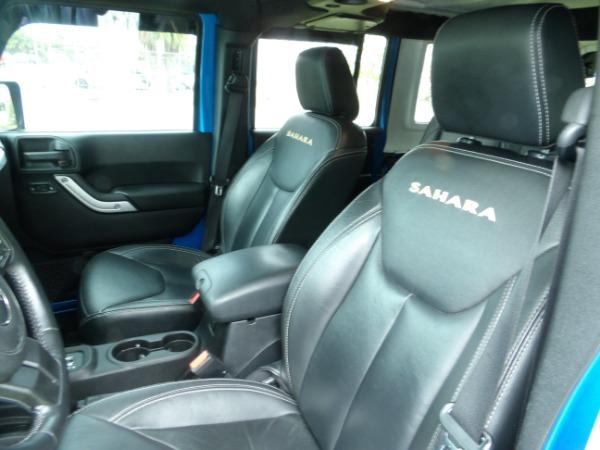Used 2015 Jeep Wrangler Unlimited Sahara   Miami, FL n31