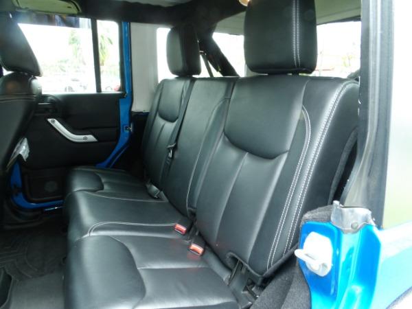 Used 2015 Jeep Wrangler Unlimited Sahara   Miami, FL n36