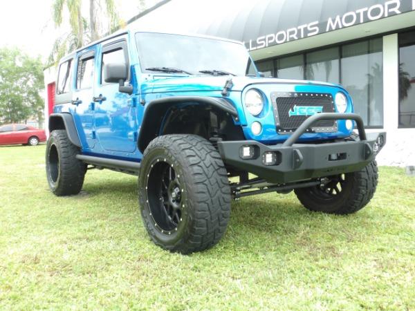 Used 2015 Jeep Wrangler Unlimited Sahara   Miami, FL n4