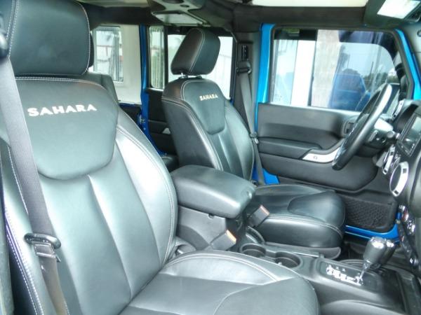 Used 2015 Jeep Wrangler Unlimited Sahara   Miami, FL n41