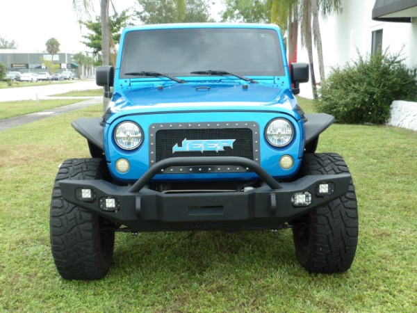 Used 2015 Jeep Wrangler Unlimited Sahara   Miami, FL n5