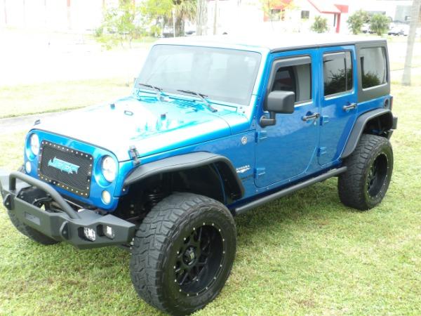 Used 2015 Jeep Wrangler Unlimited Sahara   Miami, FL n7