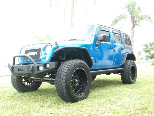 Used 2015 Jeep Wrangler Unlimited Sahara   Miami, FL n8