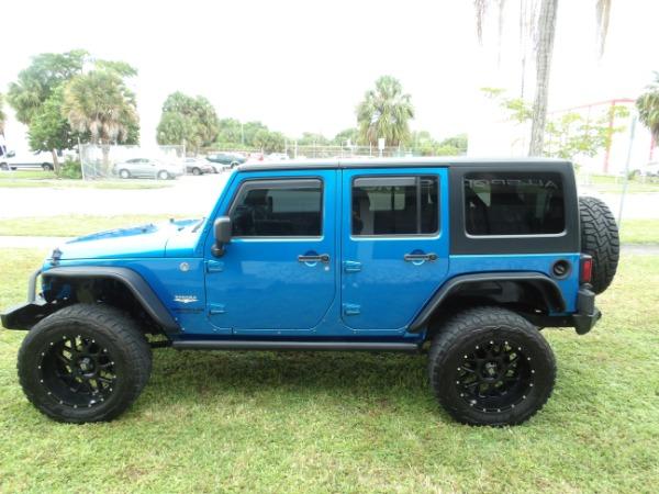 Used 2015 Jeep Wrangler Unlimited Sahara   Miami, FL n9