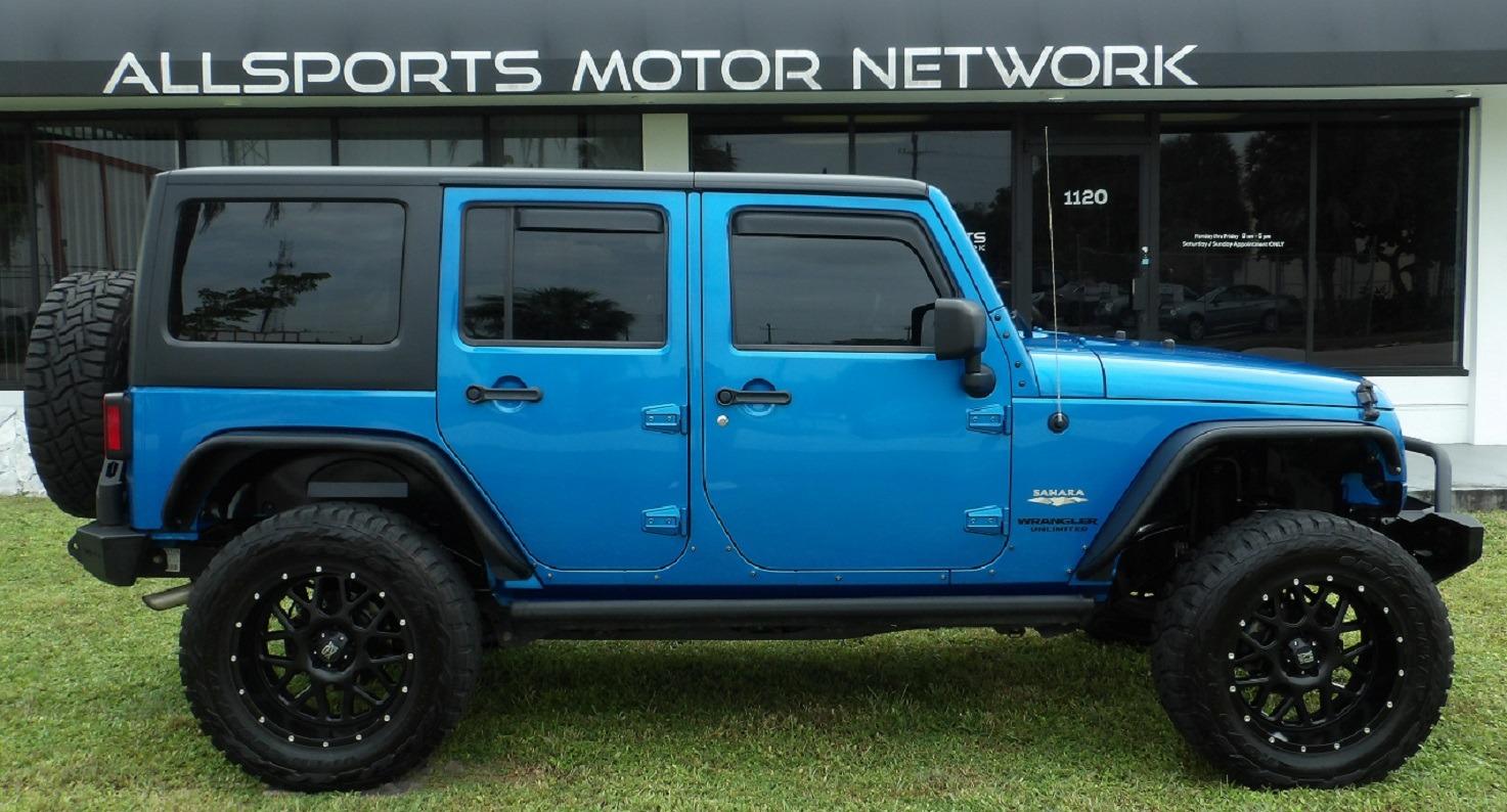 Used 2015 Jeep Wrangler Unlimited Sahara   Miami, FL