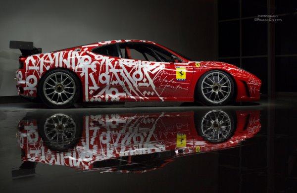 Used 2007 Ferrari F430 Challenge Artist: RETNA | Miami, FL n2