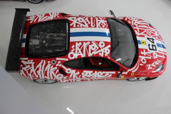 Used 2007 Ferrari F430 Challenge Artist: RETNA | Miami, FL n3