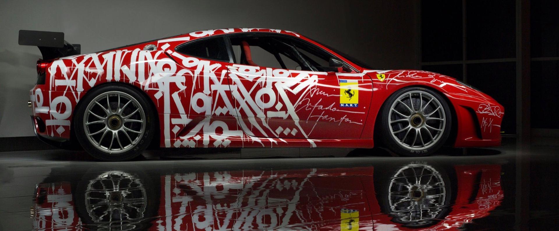 Used 2007 Ferrari F430 Challenge Artist: RETNA | Miami, FL