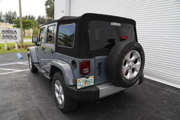 Used 2014 Jeep Wrangler Unlimited Sahara | Miami, FL n17