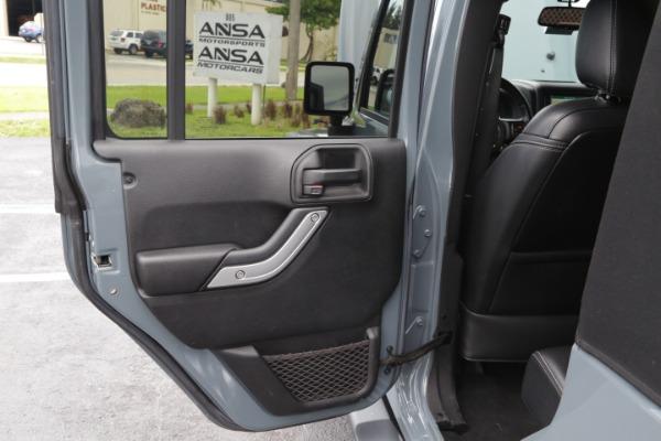 Used 2014 Jeep Wrangler Unlimited Sahara | Miami, FL n22