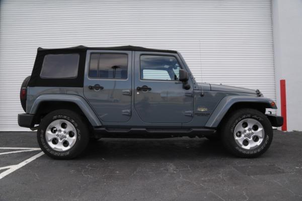 Used 2014 Jeep Wrangler Unlimited Sahara | Miami, FL n3