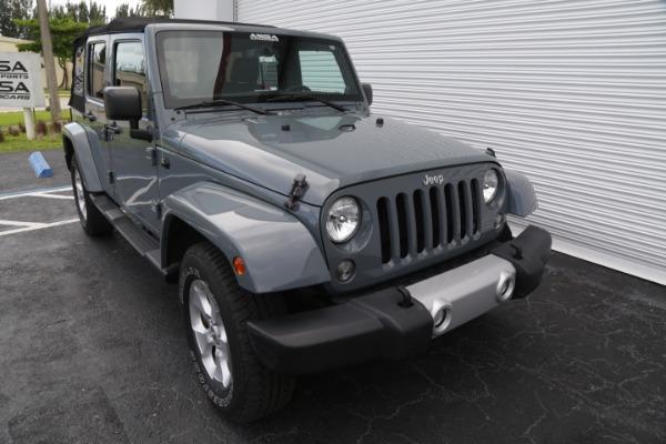 Used 2014 Jeep Wrangler Unlimited Sahara | Miami, FL n4