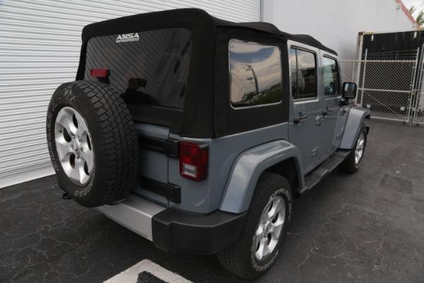 Used 2014 Jeep Wrangler Unlimited Sahara | Miami, FL n6