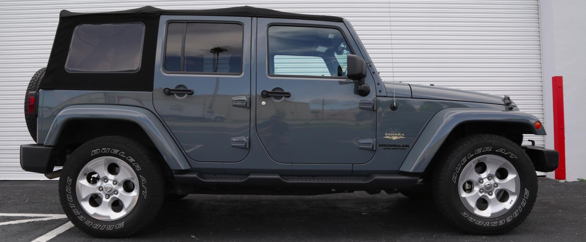 Used 2014 Jeep Wrangler Unlimited Sahara | Miami, FL