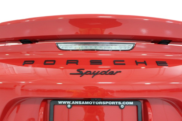 Used 2016 Porsche Boxster Spyder | Miami, FL n24