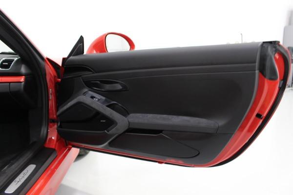 Used 2016 Porsche Boxster Spyder   Miami, FL n48