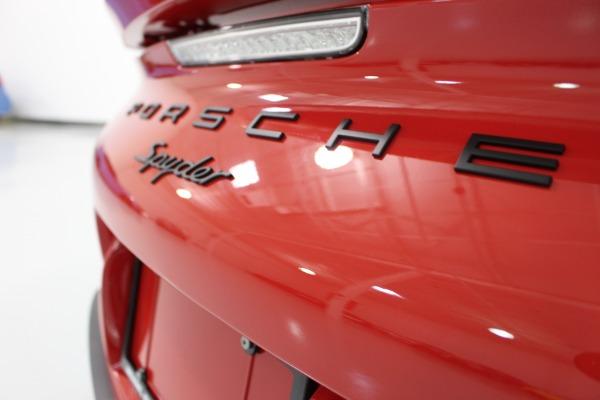Used 2016 Porsche Boxster Spyder   Miami, FL n55