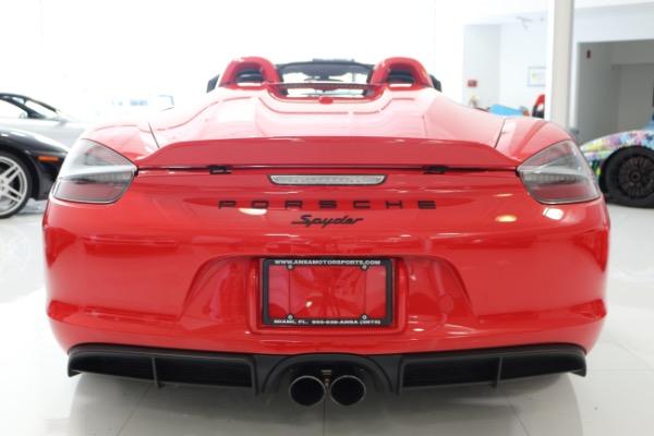 Used 2016 Porsche Boxster Spyder | Miami, FL n58