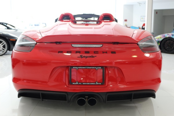 Used 2016 Porsche Boxster Spyder | Miami, FL n59