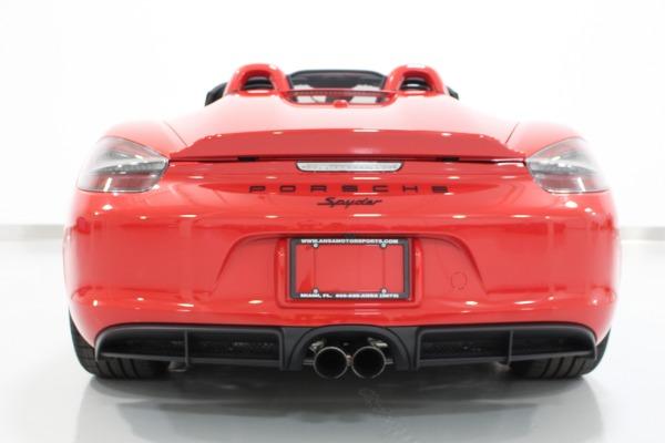 Used 2016 Porsche Boxster Spyder | Miami, FL n9