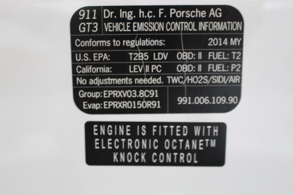 Used 2014 Porsche 911 GT3 | Miami, FL n64