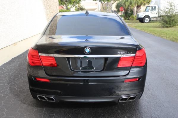 Used 2011 BMW 7 Series 760Li M Sport Package | Miami, FL n27