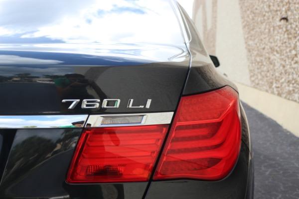 Used 2011 BMW 7 Series 760Li M Sport Package | Miami, FL n28