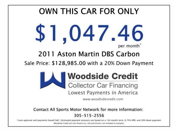 Used 2011 Aston Martin DBS Carbon Edition  | Miami, FL n46