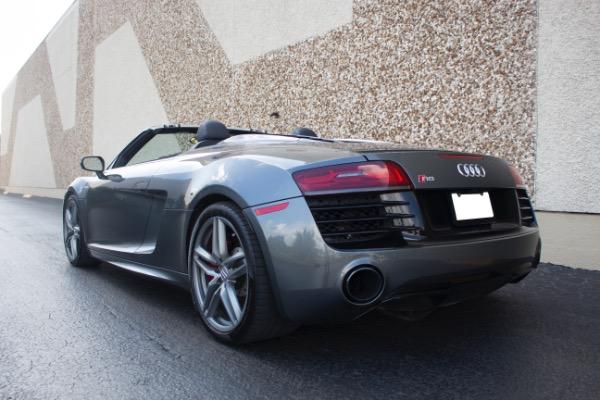 Used 2015 Audi R8 5.2 quattro Carbon Spyder | Miami, FL n11