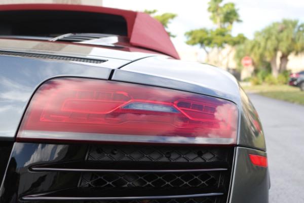 Used 2015 Audi R8 5.2 quattro Carbon Spyder | Miami, FL n19