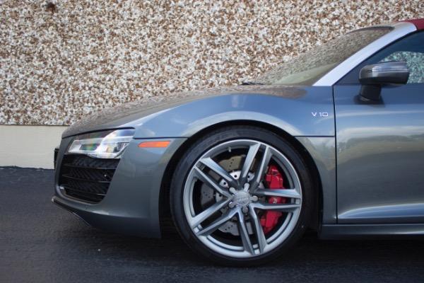 Used 2015 Audi R8 5.2 quattro Carbon Spyder | Miami, FL n20