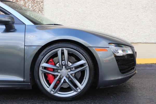 Used 2015 Audi R8 5.2 quattro Carbon Spyder | Miami, FL n28