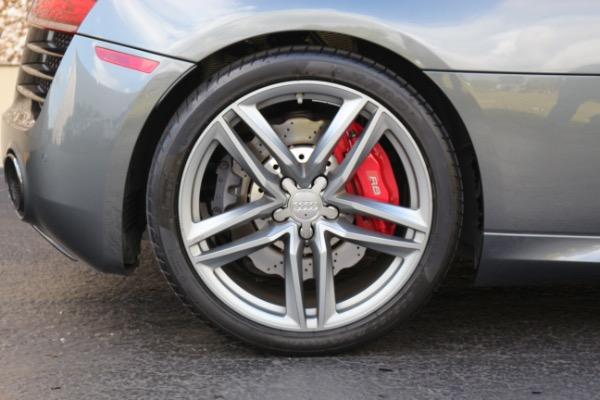 Used 2015 Audi R8 5.2 quattro Carbon Spyder | Miami, FL n29