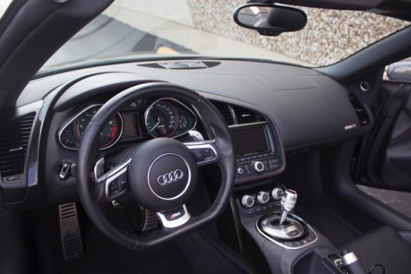 Used 2015 Audi R8 5.2 quattro Carbon Spyder | Miami, FL n33