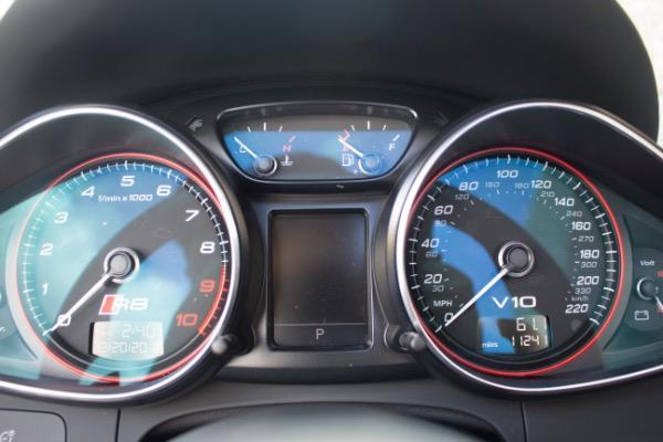 Used 2015 Audi R8 5.2 quattro Carbon Spyder | Miami, FL n36