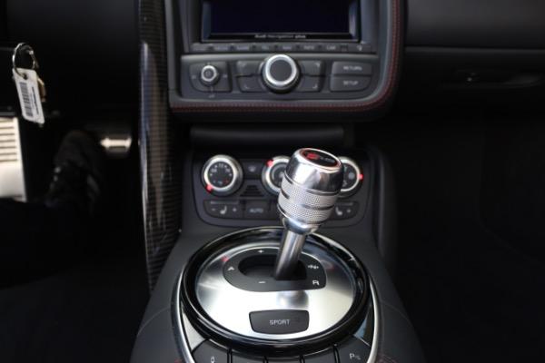 Used 2015 Audi R8 5.2 quattro Carbon Spyder | Miami, FL n37
