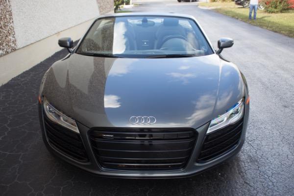 Used 2015 Audi R8 5.2 quattro Carbon Spyder | Miami, FL n9